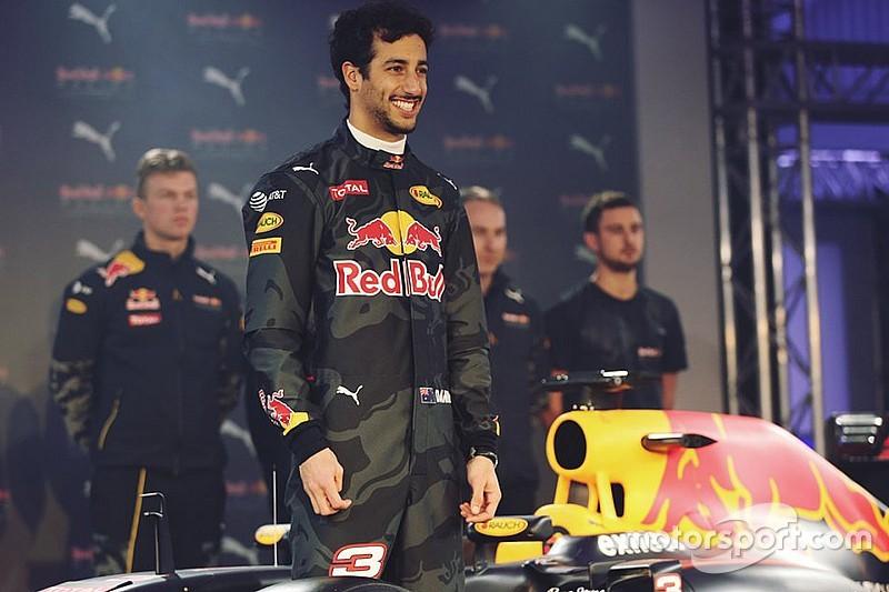 """Ricciardo: """"La esperanza es que el RB12 sea competitivo"""""""