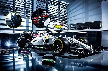 Tech analyse: Wat is er anders aan de nieuwe Williams FW38?