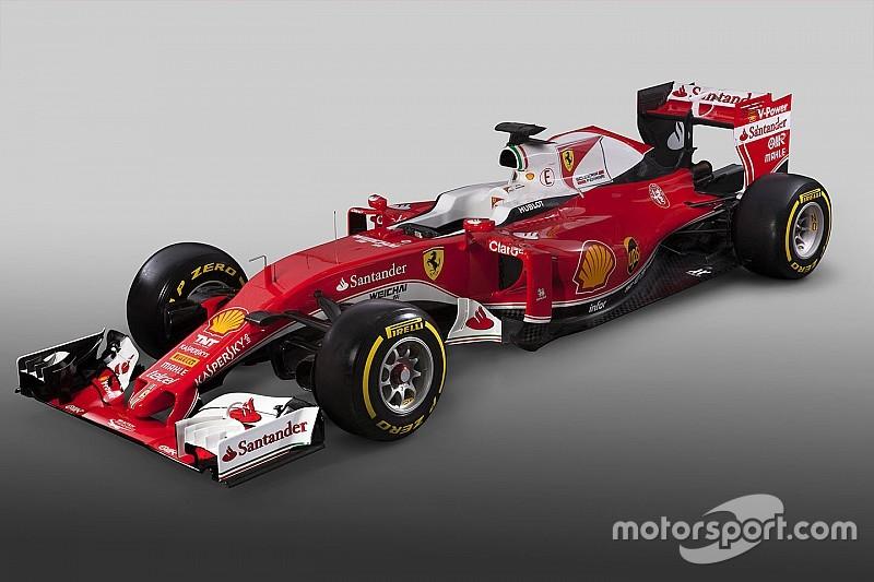 2016全新法拉利F1赛车公布