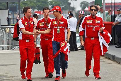 Gutierrez è anche il terzo pilota della Ferrari