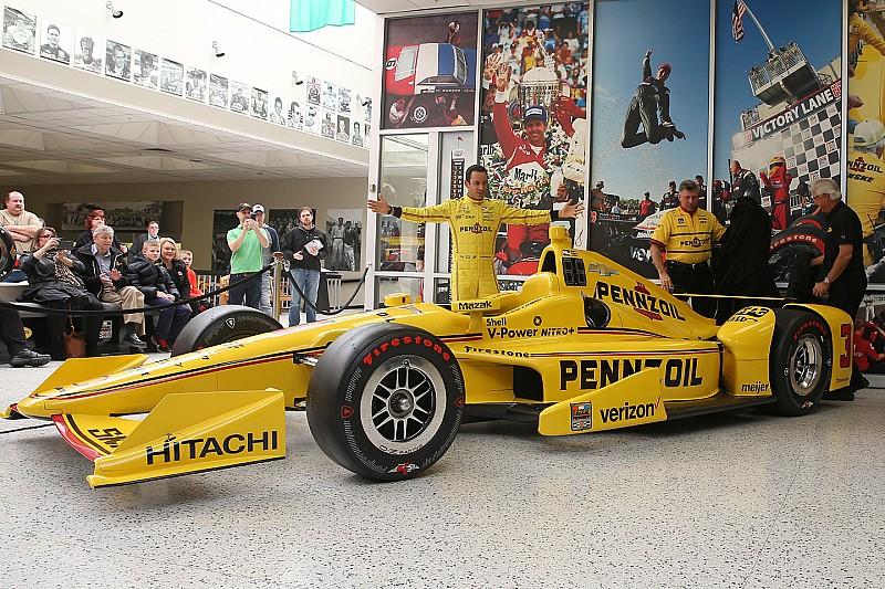 Helio Castroneves a présenté sa livrée pour l'Indy 500