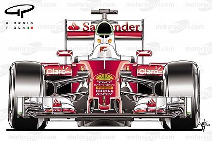 Analisi tecnica: Ferrari, il muso corto della SF16-H è molto sofisticato