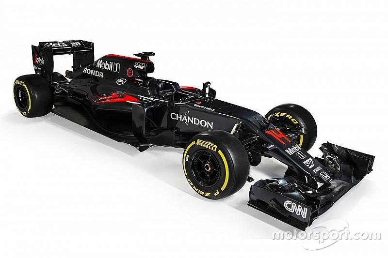 麦卡伦2016全新赛车MP4-31发布