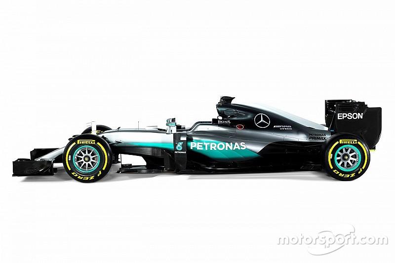 Mercedes: la scheda tecnica della F1 W07 Hybrid