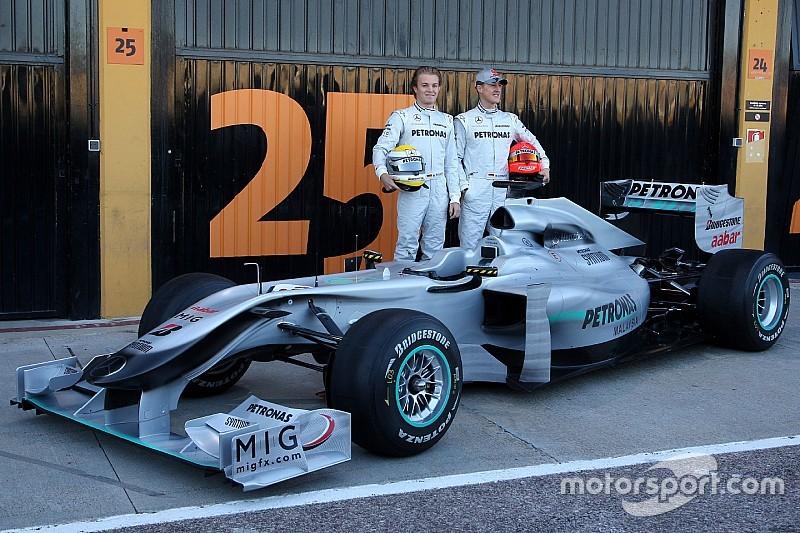 Fotostrecke: Mercedes-Präsentationen seit 2010