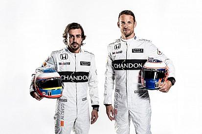 """Button """"cree más"""" en el renovado McLaren"""