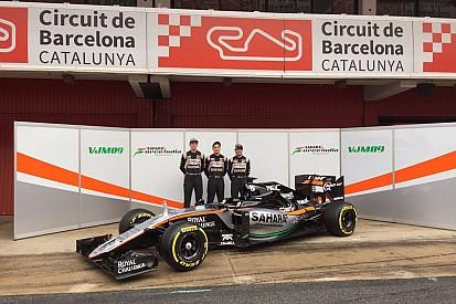 Force India présente la VJM09