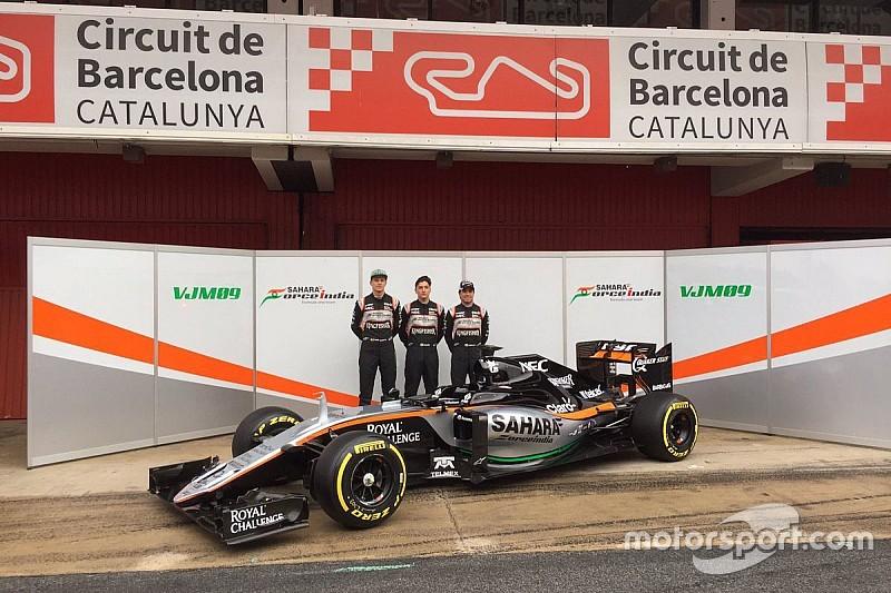 Force India laat nieuwe VJM09 zien