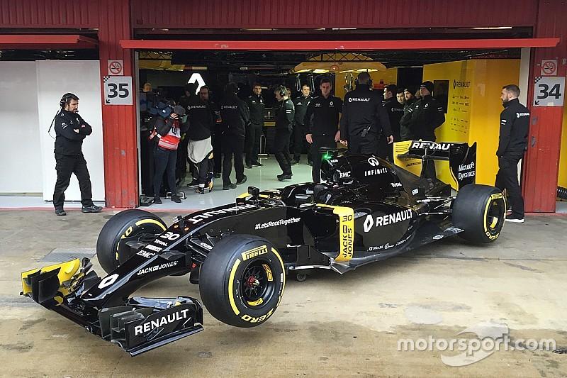 雷诺发布F1新车RS16