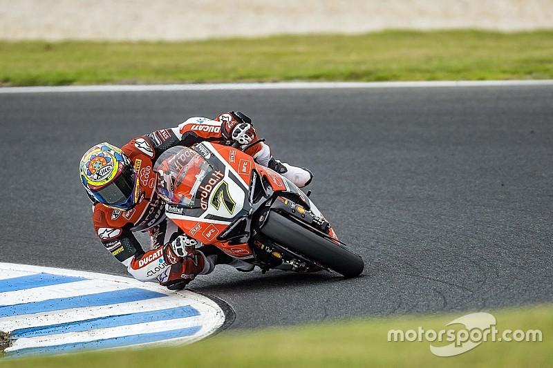 La pioggia rallenta i test della Ducati a Phillip Island