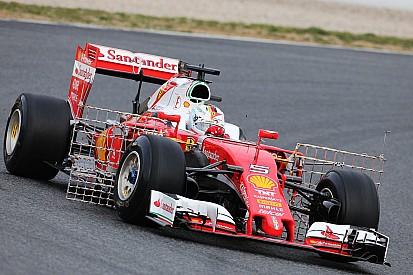 Essais Barcelone, Jour 1 - Vettel et Hamilton déjà devant à mi-journée