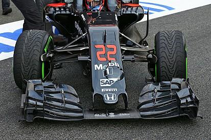 Подробно: новаторская подвеска McLaren MP4-31