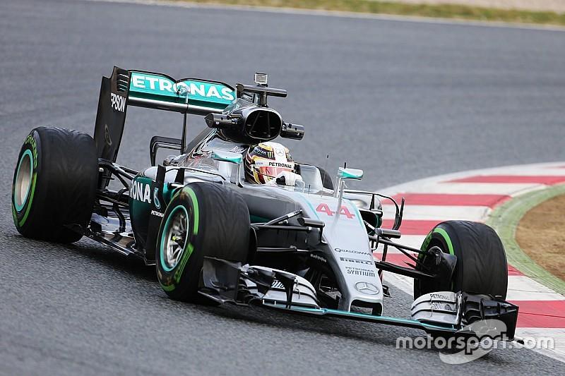 Formel-1-Testauftakt 2016: Mercedes in Topform, Renault strauchelt