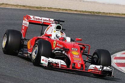 Vettel el más veloz, mientras Mercedes sumó vueltas