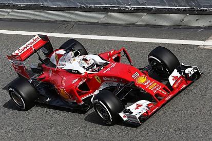 F1巴塞罗那测试第一天: 维特尔最快, 梅赛德斯公里数最多