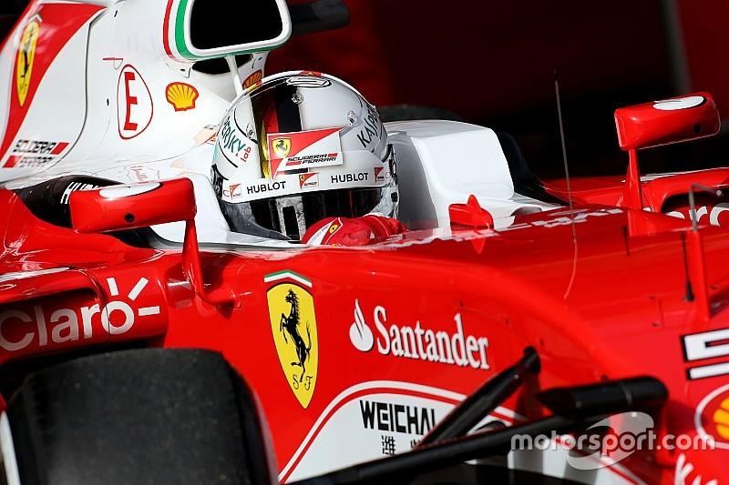 """Vettel tevreden: """"Nieuwe Ferrari is een stap voorwaarts"""""""