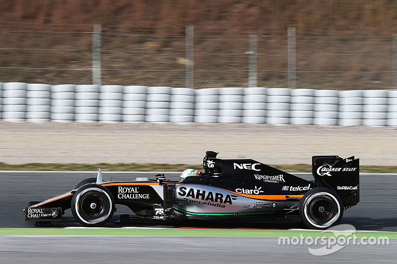 Force India resalta rendimiento de Alfonso Celis
