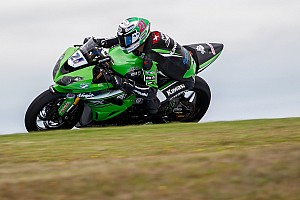 Supersport Testbericht Supersport-WM-Test Australien: Krummenacher top, Wahr stark