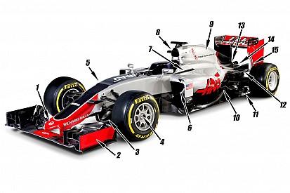 Technique - Les 15 éléments clés du design de la Haas VF-16
