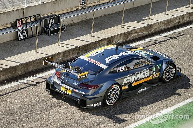 Les voitures DTM ont repris la piste à Monteblanco