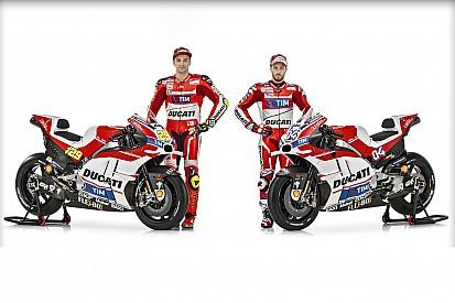 Ducati presenta su nueva Desmosedici GP