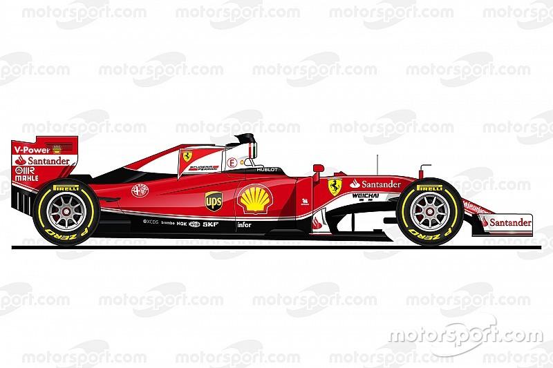 Als Zeichnungen: Die Formel-1-Autos 2016