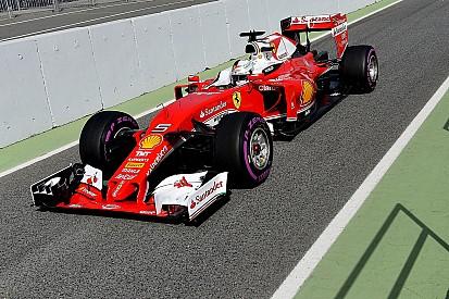 Formel-1-Test in Barcelona: Vettel und Ferrari auch am zweiten Tag vorn