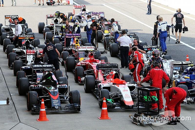 Equipos de F1 modifican formato de calificación para 2016