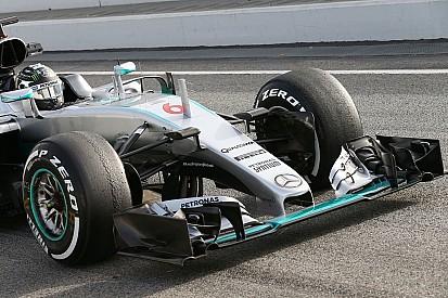 Mercedes va utiliser un nouveau nez pour le troisième jour des essais
