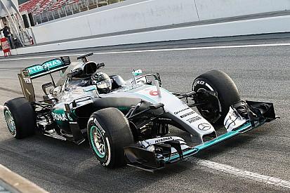 梅赛德斯在测试第三天将使用全新鼻翼