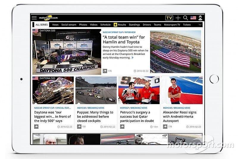 Motorsport.com diversifica la piattaforma digitale in Nord America