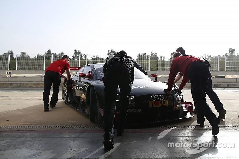 DTM-Test in Monteblanco: Audi vor Mercedes und BMW