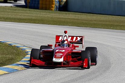Felix Rosenqvist en Indy Lights chez Belardi