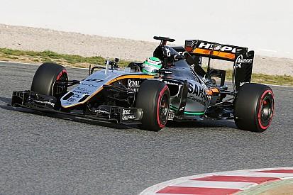 Formel-1-Test in Barcelona: Nico Hülkenberg mit Bestzeit für Force India