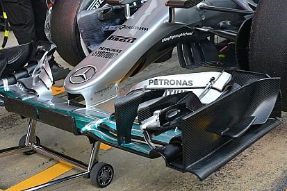 Formel-1-Testfahrten in Barcelona: Mercedes mit radikaler neuer Nase