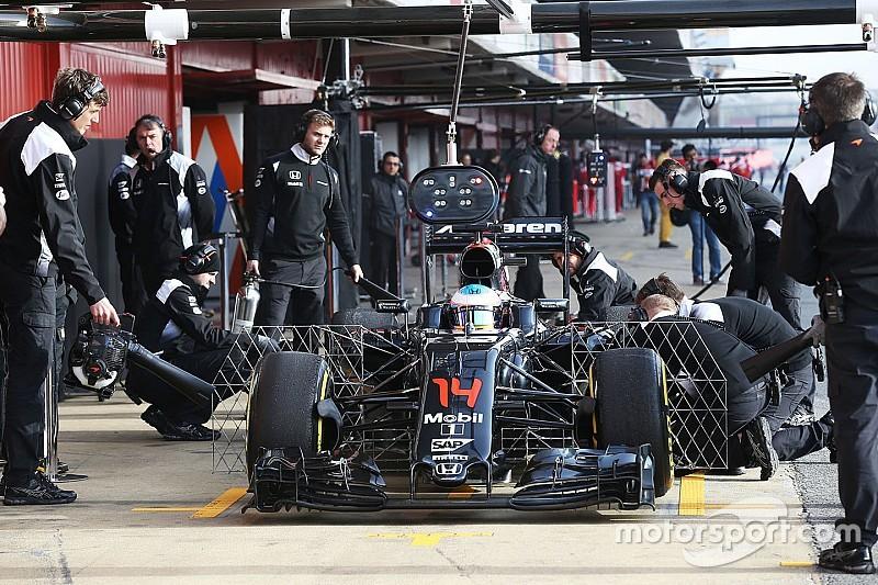 Barcelone, Jour 4 - McLaren au garage, Mercedes enchaîne