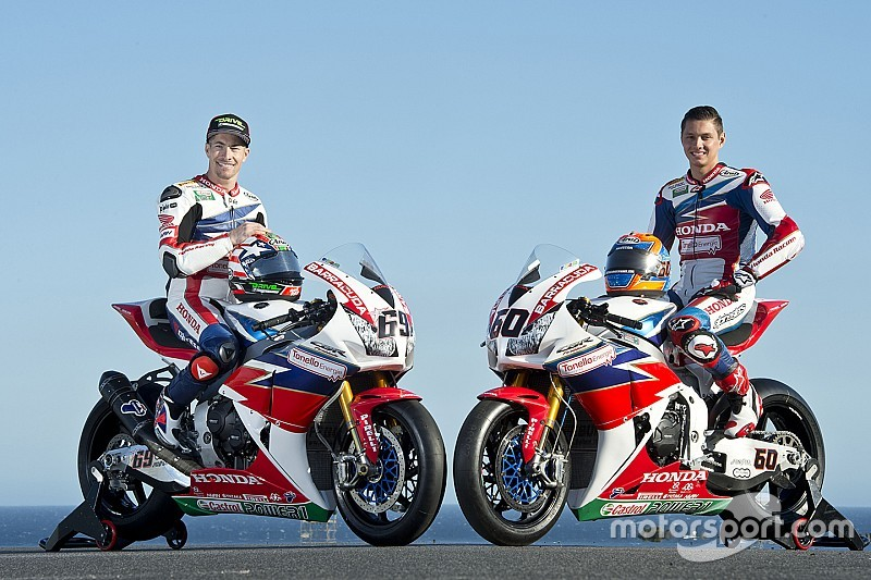 Ecco la nuova livrea del team Honda Ten Kate di Superbike