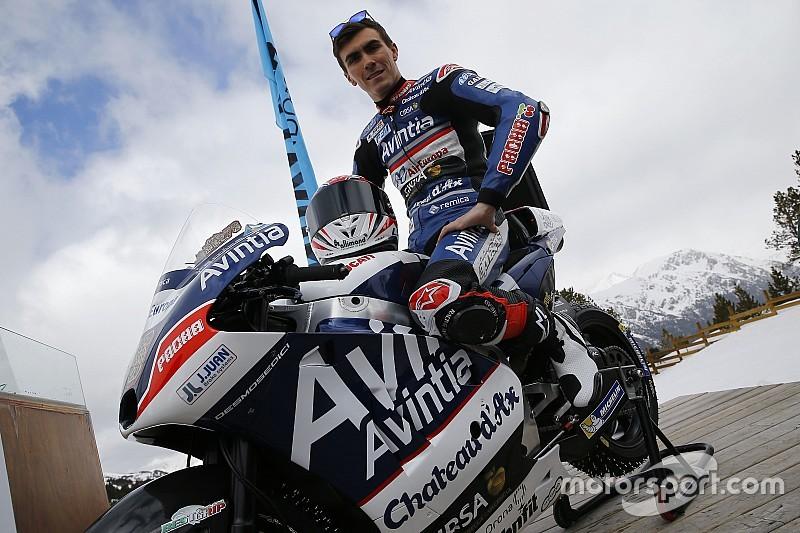 Avintia Racing lance sa saison... dans la neige !