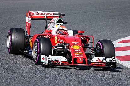 Raikkonen fue el más veloz y Alonso tuvo un día desastroso