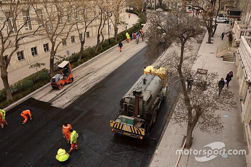 Baku: Vorbereitungen auf Formel-1-Premiere laufen auf Hochtouren