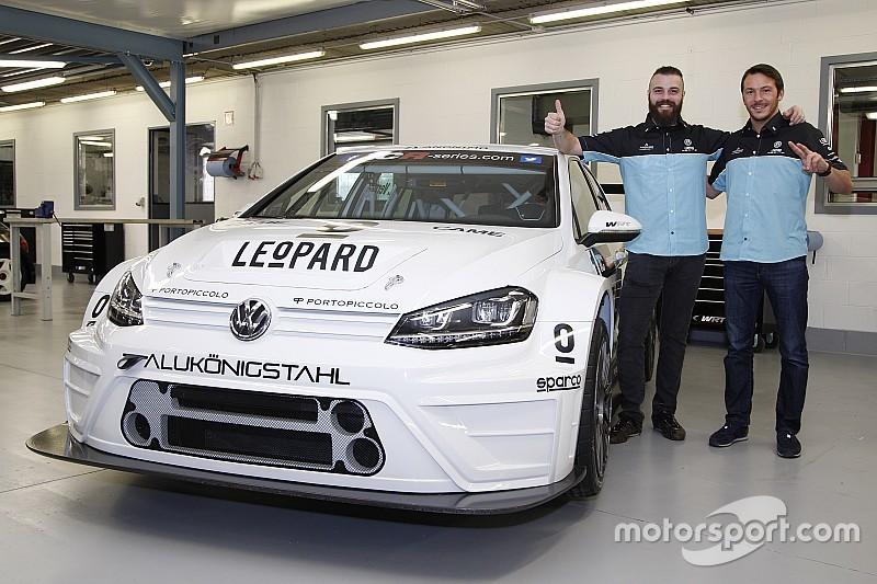TCR-Titelverteidiger Stefano Comini startet 2016 im Volkswagen Golf