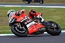 Second place for the Ducati team in Race 1 in Phillip Island with Chaz Davies
