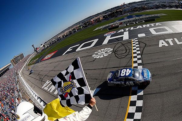 NASCAR Cup Johnson iguala recorde de vitórias de Earnhardt em Atlanta