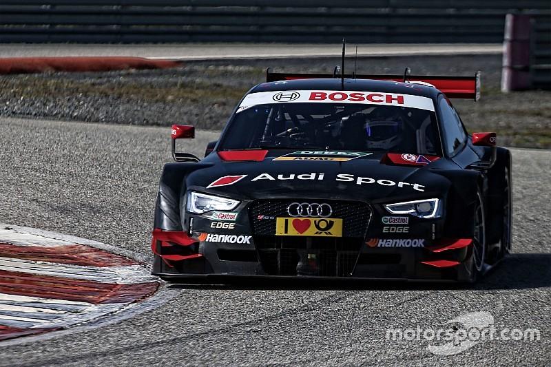 Des premiers tests productifs pour Audi à Monteblanco