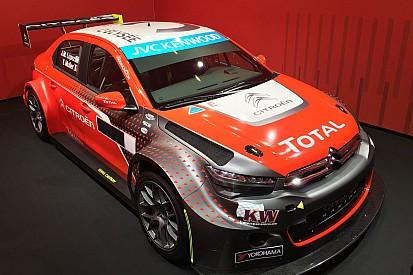 Rot und Grau: Citroën präsentiert neue Farben für die WTCC 2016
