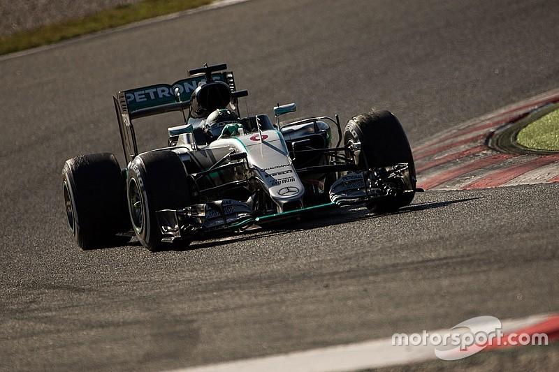 Mercedes niet op zachtste banden tijdens Barcelona-test
