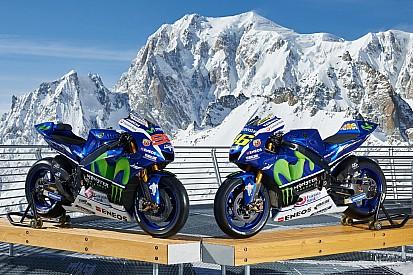 Photos - Les Yamaha YZR-M1 sur le sommet de l'Europe
