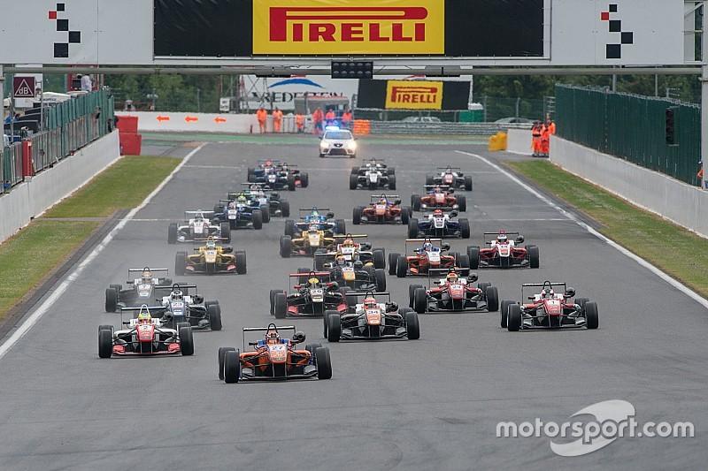 Europees F3 bevestigt 24 auto's voor komend seizoen