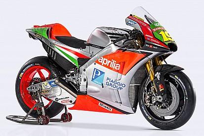 """В Aprilia показали """"полностью переделанный"""" новый мотоцикл"""