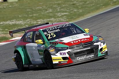 Citroën et Bennani dominent la première journée à Vallelunga
